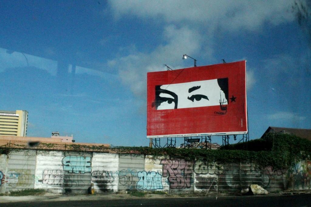 Los ojos de Chávez